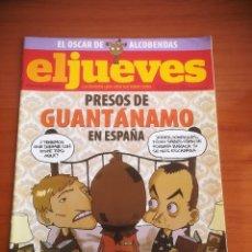 Coleccionismo de Revista El Jueves: REVISTA EL JUEVES Nº 1658 MARZO 2009 PRESOS DE GUANTÁNAMO EN ESPAÑA. Lote 205394248
