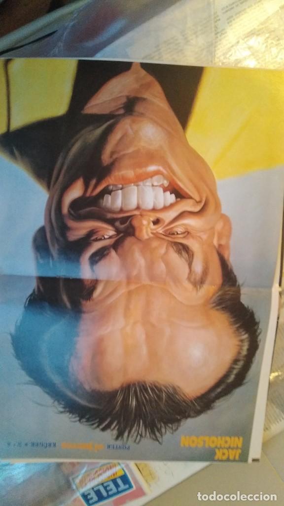 Coleccionismo de Revista El Jueves: LOTE 6 POSTERS EL JUEVES CARICATURAS FAMOSOS MICHAEL JACKSON, MADONNA, MIKE JAGGER, RICHARD GERE, - Foto 5 - 206184565