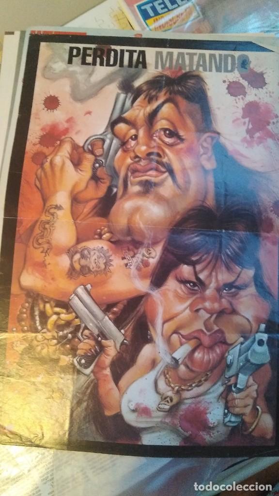 Coleccionismo de Revista El Jueves: LOTE 6 POSTERS EL JUEVES CARICATURAS FAMOSOS MICHAEL JACKSON, MADONNA, MIKE JAGGER, RICHARD GERE, - Foto 7 - 206184565