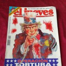 Coleccionismo de Revista El Jueves: EL JUEVES. N° 1409 JUNIO 2004. Lote 206366396