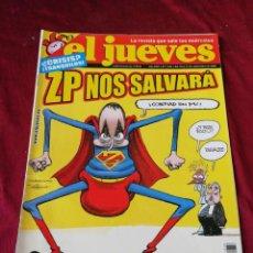 Coleccionismo de Revista El Jueves: EL JUEVES. N° 1633 SEPTIEMBRE 2008. Lote 206367208