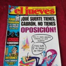 Coleccionismo de Revista El Jueves: EL JUEVES. N° 1619 JUNIO 2008. Lote 206367647