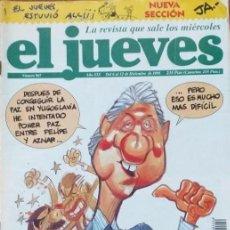 Coleccionismo de Revista El Jueves: REVISTA EL JUEVES - NUMERO 967 - AÑO 1995. Lote 206494438