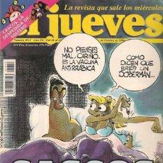 Coleccionismo de Revista El Jueves: REVISTA EL JUEVES - NÚMERO 1012 - 1996. Lote 206494891