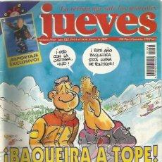 Coleccionismo de Revista El Jueves: REVISTA EL JUEVES - NÚMERO 1024 - 1997. Lote 206494980