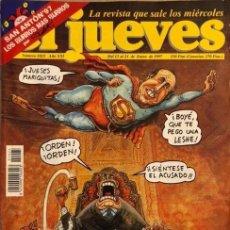 Coleccionismo de Revista El Jueves: REVISTA EL JUEVES - NÚMERO 1025 - 1997. Lote 206495008