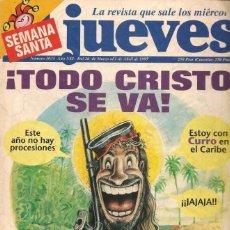 Coleccionismo de Revista El Jueves: REVISTA EL JUEVES - NÚMERO 1035 - 1997. Lote 206495282