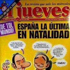 Coleccionismo de Revista El Jueves: REVISTA EL JUEVES - NÚMERO 1180 - 2000. Lote 206798955