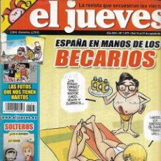 Coleccionismo de Revista El Jueves: * CO40 - REVISTA - EL JUEVES - 2007. Lote 206799025