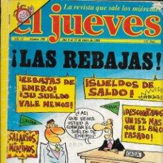 Coleccionismo de Revista El Jueves: * CO42 - REVISTA - EL JUEVES - 1985. Lote 206799317