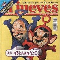 Coleccionismo de Revista El Jueves: REVISTA EL JUEVES - NÚMERO 1183 - 2000. Lote 206799380