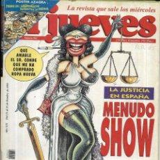 Coleccionismo de Revista El Jueves: * CO45 - REVISTA - EL JUEVES - 1995. Lote 206799670
