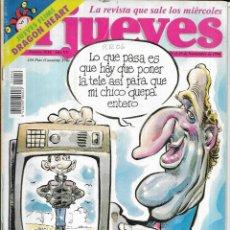 Coleccionismo de Revista El Jueves: * CO46 - REVISTA - EL JUEVES - 1996. Lote 206799758