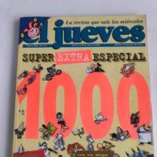 Coleccionismo de Revista El Jueves: REVISTA EL JUEVES SUPER EXTRA ESPECIAL NUNERO 1000 1996. Lote 206801443