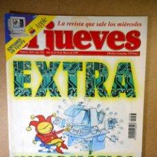 Coleccionismo de Revista El Jueves: EL JUEVES Nº 1033 : EXTRA INFORMÁTICA. Lote 207033656
