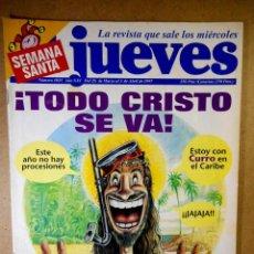 Coleccionismo de Revista El Jueves: EL JUEVES Nº 1035. Lote 207034053