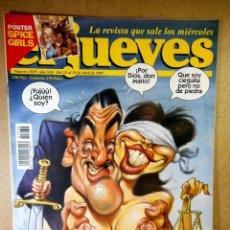 Coleccionismo de Revista El Jueves: EL JUEVES Nº 1039 : EL CACHONDEO DE LA JUSTICIA. Lote 207034233