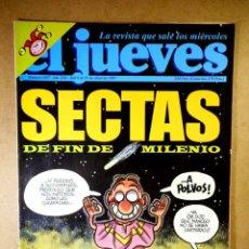 Coleccionismo de Revista El Jueves: EL JUEVES Nº 1037 : SECTAS DE FIN DE MILENIO. Lote 207034316
