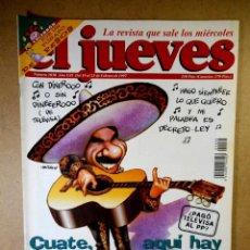 Coleccionismo de Revista El Jueves: EL JUEVES Nº 1030 : CUATE, AQUÍ HAY TOMATE. Lote 207034608