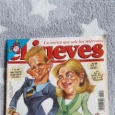 Coleccionismo de Revista El Jueves: REVISTA EL JUEVES N°1042. PORTADA URDANGARIN Y LA INFANTA.. Lote 207070202