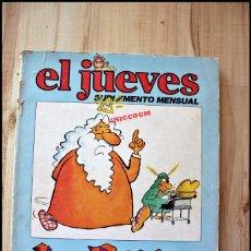 Coleccionismo de Revista El Jueves: TOMO LA BIBLIA CONTADA A LOS PASOTAS, SUPLEMENTO MENSUAL, EDITA EL JUEVES 1980. Lote 207071127
