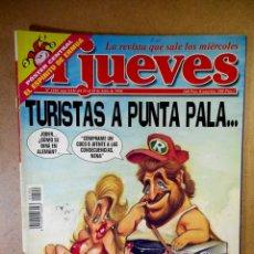 Coleccionismo de Revista El Jueves: EL JUEVES Nº 1104 : TURISTAS A PUNTA PALA. Lote 207097932
