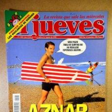 Coleccionismo de Revista El Jueves: EL JUEVES Nº 1105 : AZNAR DE VACACIONES. Lote 207098043