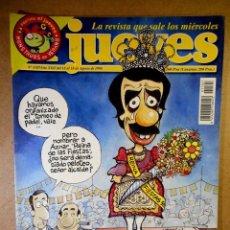 Coleccionismo de Revista El Jueves: EL JUEVES Nº 1107 : VERANO FIESTAS MAYORES. Lote 207098353