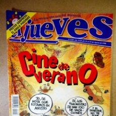 Coleccionismo de Revista El Jueves: EL JUEVES Nº 1108 : CINE DE VERANO. Lote 207098668