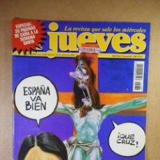 Coleccionismo de Revista El Jueves: EL JUEVES Nº 1089 : SEMANA SANTA 98. Lote 207163197