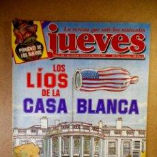 Coleccionismo de Revista El Jueves: EL JUEVES Nº 1087 : LOS LÍOS DE LA CASA BLANCA. Lote 207163635
