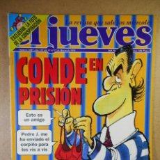 Coleccionismo de Revista El Jueves: EL JUEVES Nº 1085 : CONDE EN PRISIÓN. Lote 207163918