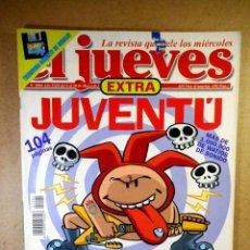 Coleccionismo de Revista El Jueves: EL JUEVES Nº 1084 : EXTRA JUVENTÚ. Lote 207164196
