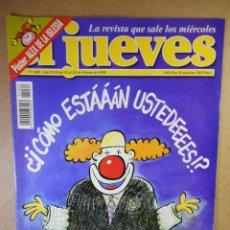 Coleccionismo de Revista El Jueves: EL JUEVES Nº 1082 : LA JUSTICIA VISTA POR LOS ESPAÑOLES. Lote 207164552