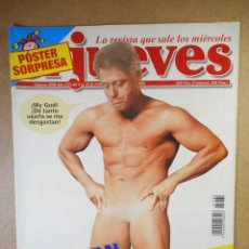 Coleccionismo de Revista El Jueves: EL JUEVES Nº 1080 : CLINTON EL INSACIABLE. Lote 207164700