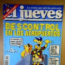 Coleccionismo de Revista El Jueves: EL JUEVES Nº 1213 : DESCONTROL EN LOS AEROPUERTOS. Lote 207170313