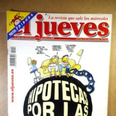 Coleccionismo de Revista El Jueves: EL JUEVES Nº 1216 : HIPOTECAS POR LAS NUBES. Lote 207171068