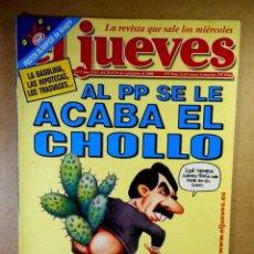 Coleccionismo de Revista El Jueves: EL JUEVES Nº 1217 : AL PP SE LE ACABA EL CHOLLO. Lote 207171738