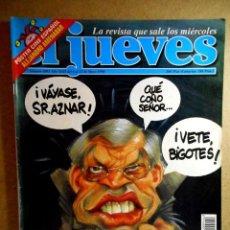 Coleccionismo de Revista El Jueves: EL JUEVES Nº 1093 : BORRELL, EL AZOTE PEPERO. Lote 207206107
