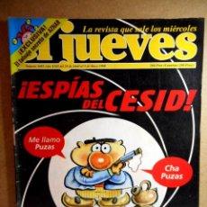Coleccionismo de Revista El Jueves: EL JUEVES Nº 1092 : ESPÍAS DEL CESID. Lote 207206290