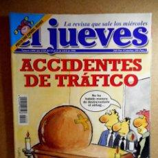 Coleccionismo de Revista El Jueves: EL JUEVES Nº 1090 : ACCIDENTES DE TRÁFICO. Lote 207206811