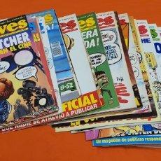 Coleccionismo de Revista El Jueves: LOTE DE 35 REVISTAS DE EL JUEVES . AÑOS ENTRE 1986 Y 1991. Lote 207773132
