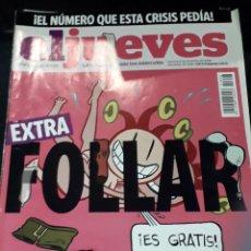 Coleccionismo de Revista El Jueves: COMIC REVISTA EL JUEVES 1646 EXTRA FOLLAR POSTER CLARA Y LUCIA DE BERNET KAMASUTRA PUNK. Lote 209898595