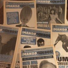 Coleccionismo de Revista El Jueves: MANDA GÜEBOS LOTE DE 6. Lote 210351241