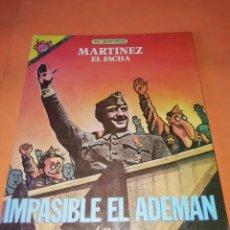 Collectionnisme de Magazine El Jueves: MARTINEZ EL FACHA. KIM. IMPASIBLE EL ADEMAN. EL JUEVES 1988. RARO.. Lote 210586411