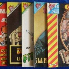 Coleccionismo de Revista El Jueves: EL JUEVES LOTE 6 REVISTAS PENDONES DEL HUMOR Nº 8 .-18 .-57 .-60 .-62 Y 72. Lote 210828325