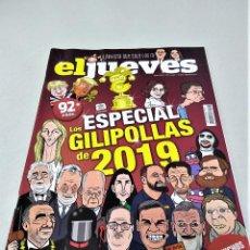 Coleccionismo de Revista El Jueves: REVISTA EL JUEVES 2.222   DICIEMBRE 2019   EL JUEVES 2019. Lote 211450840