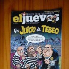 Coleccionismo de Revista El Jueves: REVISTA EL JUEVES Nº 2177 - 13 FEBRERO 2019. Lote 211564261
