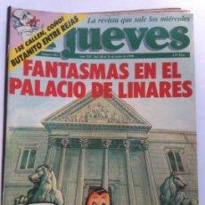 Coleccionismo de Revista El Jueves: COLECCIONISMO DE REVISTA EL JUEVES: EL JUEVES NUMERO 682 - 20 AL 26 JUNIO 1990 -FANTASMAS EN LINARES. Lote 211726384