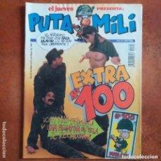 Coleccionismo de Revista El Jueves: PUTA MILI NUM 100. Lote 211976508